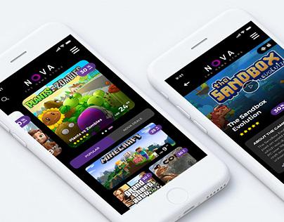 NOVA Game Store App