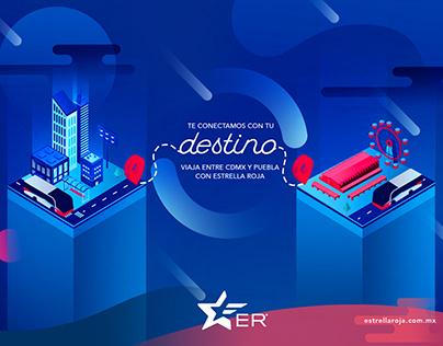 Campaña Digital - Estrella Roja Puebla