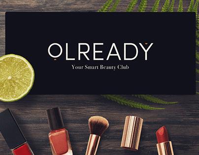 OLREADY Smart Beauty Marketplace Brand Identity Design