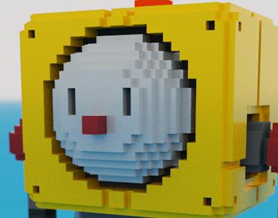 voxel robot[GENJI號-Yadorigi]
