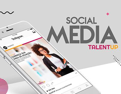 Social Media - Talent UP