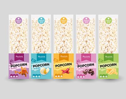 Patlamış Mısır Paket Tasarımı - Popcorn Package