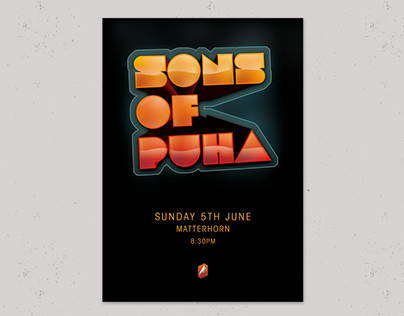 Sons of Puha | Gig Posters