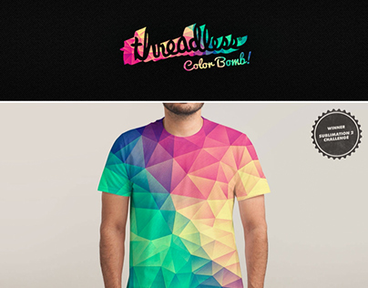 Color Bomb! @Threadless
