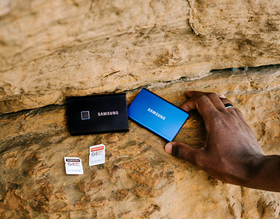 Samsung Memory - Product Photography