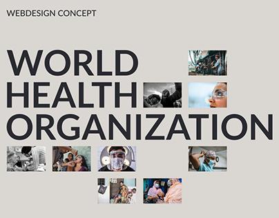WHO — webdesign concept