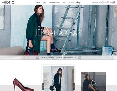 hotic web ui design