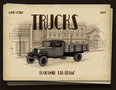 TRUCKS - economical strategy game for Andoid tablets