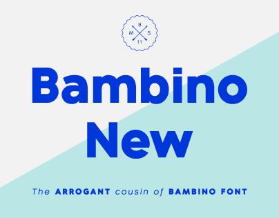 Bambino New Font Family
