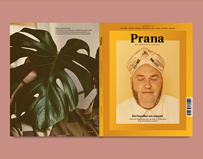 Prana Magazine redesign