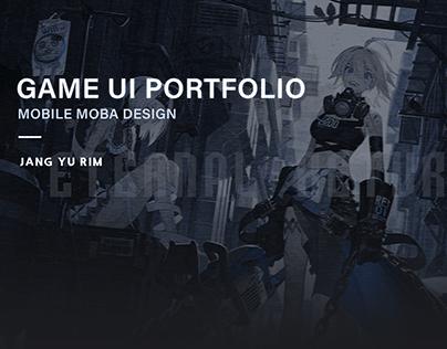 GAME UI PORTFOLIO_MOBILE MOBA DESIGN