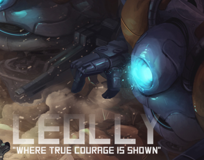 "LEOLLY ""Where true courage is shown"""
