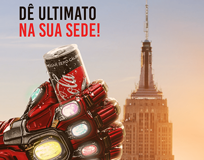 Campanha Publicitária Coca Cola | Motion Graphics