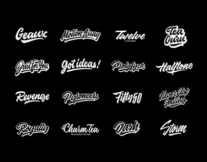Lettering Logos Collection Vol. 3