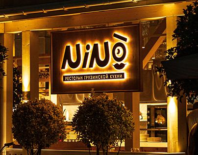 Nino restaurant branding