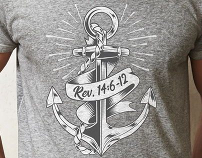 Three Angels Messages Anchor T-shirt