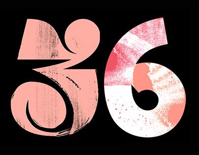 36 Days of Type 2018