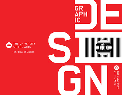 University of the Arts: Graphic Design Booklet