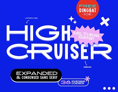 FREE FONT | High Cruiser