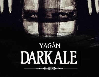 Austral Beer Concept: YAGÁN Dark Ale
