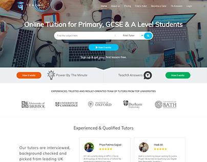 Teach9 Education Web Application