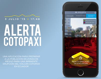 Aplicación Alerta Cotopaxi