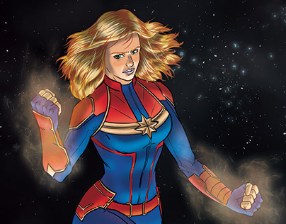 Captain Marvel fanart