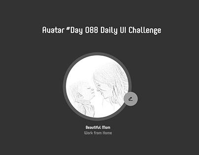 Day 088 - Avatar - Daily UI challenge