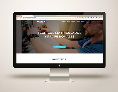 Diseño Web Ingesa Climatización