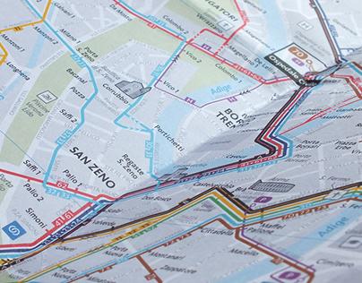 Transit information system for Atv (Verona, Italy)