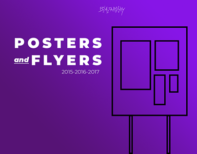 Collection of Posters & Flyers. 2017-16-15