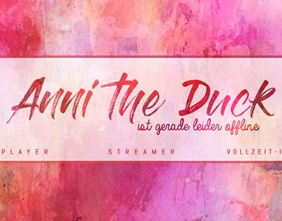 Twitch Channel Design für AnnitheDuck