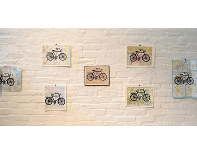 Prints for Tandem: Bicycles and Artwork Showcase
