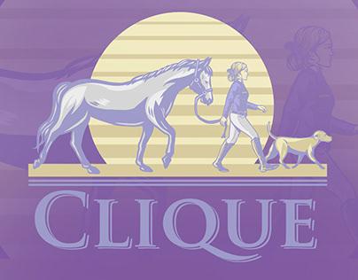 Clique t-shirt design