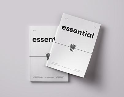 essential   editorial design