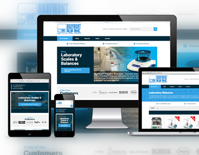 Braymont Scales UK - Ecommerce Web Design