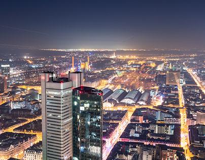 Franfurt at Night