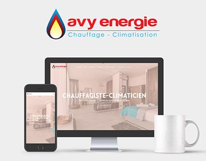 Avy Energie - Site Web