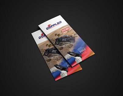 Tri-fold brochure design | Diseño folleto tríptico