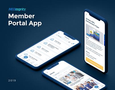 MEDtegrity Member Portal App