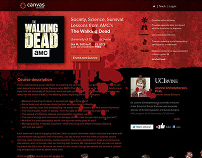 Canvas Network & AMC's The Walking Dead