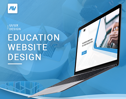 MahfWorks | Education Website Design - Home & Login