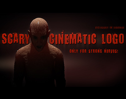 Scary Cinematic Logo Reveal - After Effects template