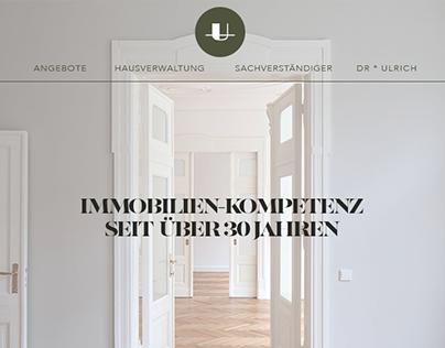 DR°ULRICH Real estate - Icon & Web