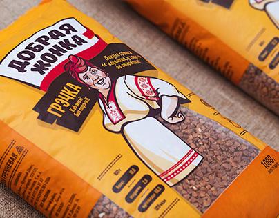 Trademark for Dobraya Zhonka grocery