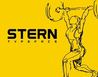 STERN / Typeface Font