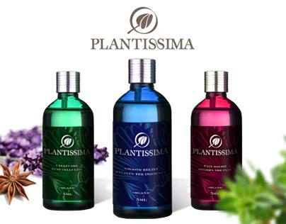 Plantissima visual identity & packaging
