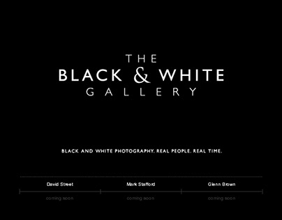 The Black & White Gallery