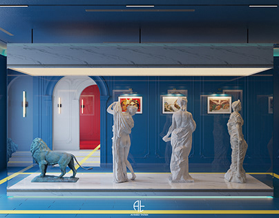 A Frensh Art Gallery & Small Museum