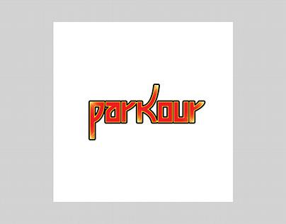 """Logo Para Empresa Fictícia """"PARKOUR"""""""